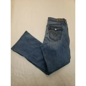 Levi's 'Mid Rise Boot Cut Womens Jeans Size 12PM